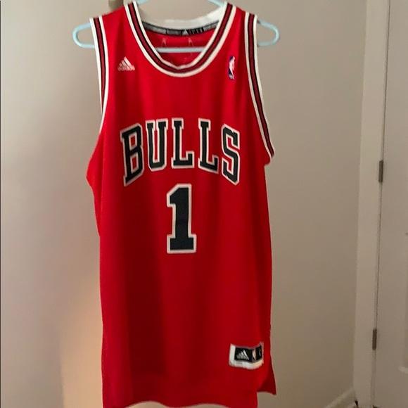 meet bd02d a46ea NBA Derrick Rose Bulls Jersey